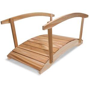 Pont de jardin en cèdre naturel de 6 pi par All Things Cedar