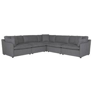 Mazin Industries Howerton Grey Living Room Set