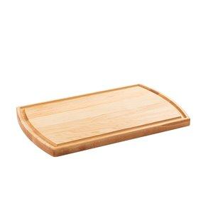 Planche à découper en bois Chop Chop de Bois Mirabel, 14,25 po L x 8 po l, jaune