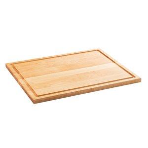 Planche à découper en bois Chop Chop de Bois Mirabel, 19 po L x 15 po l, jaune