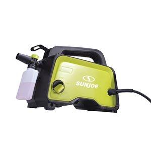 Appareil de nettoyage à haute pression électrique portatif de 1450 psi et 1,48 gal par Sun Joe