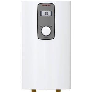 Chauffe-eau sans réservoir au point d'utilisation DHX 240 volts 9.6 kW 4,5 gpm de Stiebel Eltron