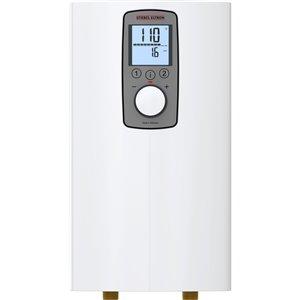 Chauffe-eau sans réservoir au point d'utilisation DHX 240 volts 12 kW 4,5 gpm de Stiebel Eltron