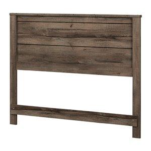 Tête de lit pour lit double Fynn de South Shore Furniture, chêne automnal