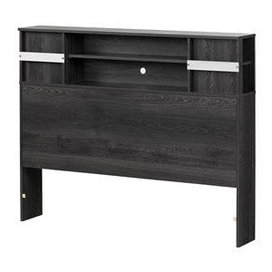 Tête de lit pour lit double Step One de South Shore Furniture, chêne gris