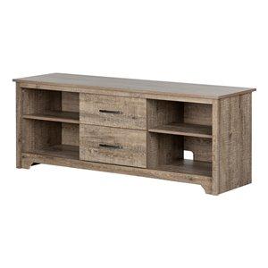 Meuble universel pour téléviseur avec tiroirs Fusion de South Shore Furniture, brun