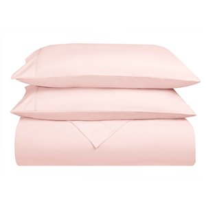 Swift Home King Microfibre 4-Piece Pink Bed Sheets