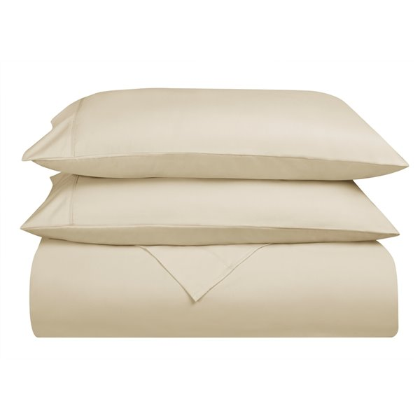 Swift Home Full Microfibre 4-Piece Cream Bed Sheets