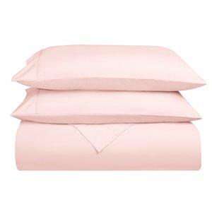 Ensemble de draps en microfibre Swift Home pour lit double, rose, 4 pièces