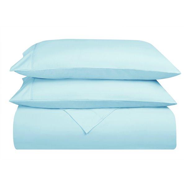 Ensemble de draps en microfibre Swift Home pour lit simple, cyan, 4 pièces
