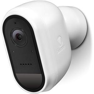 Caméra de sécurité IP sans fil HD 1080p Swann sans fil avec TrueDetect, blanc
