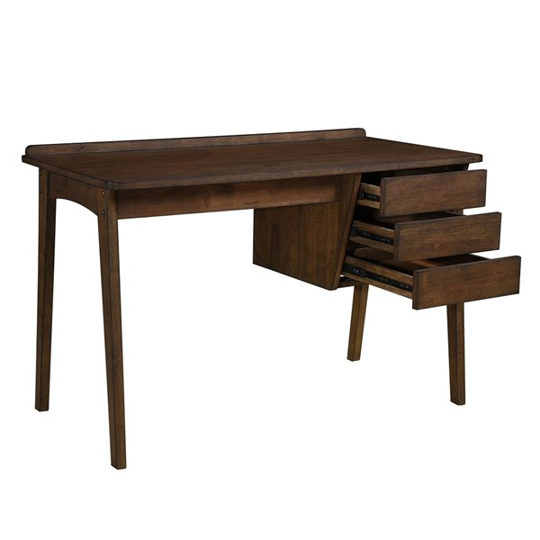 HomeTrend Calix 47.25-in Grey Modern/Contemporary Writing Desk