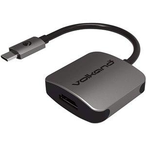 VolkanoX 0.5-ft USB Type C to 4K HDMI Converter