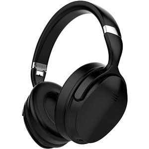 Écouteurs supra-auriculaires noirs à réduction de bruit de VolkanoX