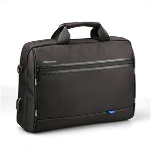Sac pour ordinateur portable Global Series noir 16.14 po x 2.56 po x 11.42 po de Kingsons