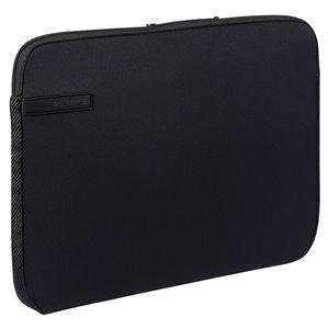 Sac pour ordinateur portable Wrap Series noir 12.01 po x 8.27 po x 0.71 po de Volkano