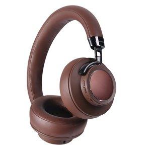 Écouteurs supra-auriculaires bruns de VolkanoX
