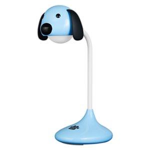 Lampe de bureau standard bleue Neon Series 18,5 po ajustable avec interrupteur marche/arrêt de Lumo