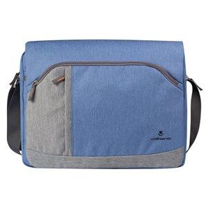 Sac pour ordinateur portable Breeze Series bleu 12.2 po x 15.35 po x 2.76 po de Volkano