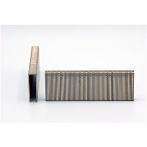 Agrafes de finition en bande de 2 po x 7/16 po x 7/16 po à couronne moyenne et calibre 16 par Crisp-Air, pqt de 3000