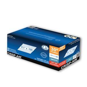 Clous de charpente en bande en acier galvanisé à chaud de 3/4 po et calibre de 0,120 par Crisp-Air, pqt de 1000