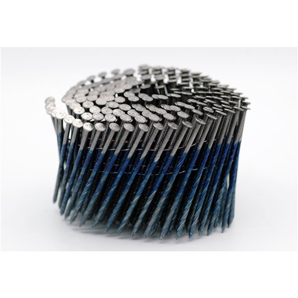 Crisp-Air 3-1/4-in 0.120-Gauge 15° Bright Steel Collated Framing Nails 4000/pk