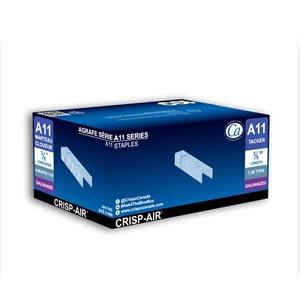 Agrafes à crampe en bande de 3/8 po à couronne étroite par Crisp-Air, pqt de 5000