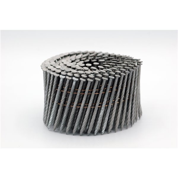 Crisp-Air 2-in 0.099-Gauge 15° Hot-Dipped Galvanized Steel Collated Framing Nails 3600/pk