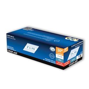 Clous de charpente en bande en acier galvanisé à chaud de 2 po et calibre de 0,113 par Crisp-Air, pqt de 1000