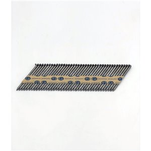 Clous de charpente en bande en acier galvanisé à chaud de 2 3/8 po et calibre 0,113 par Crisp-Air, pqt de 1000