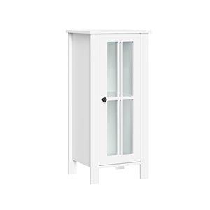 RiverRidge Home Danbury 13.88-in W x 30-in H x 11.69-in D White MDF Freestanding Linen Cabinet