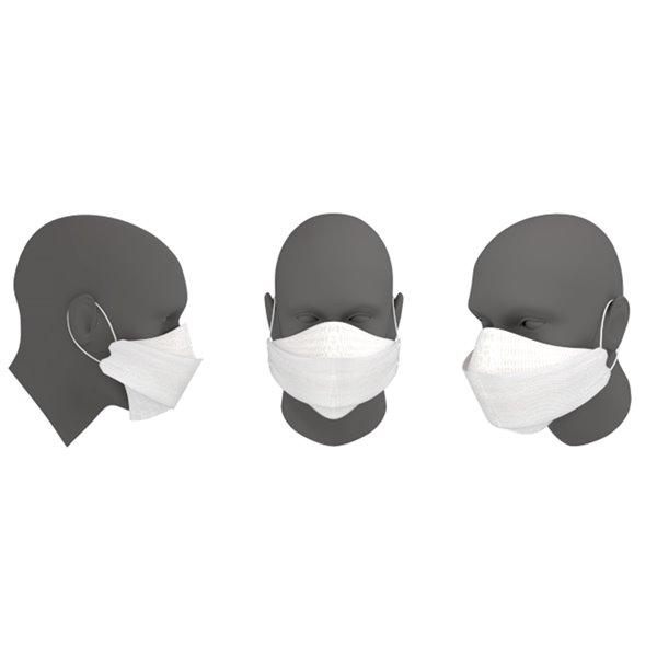 Masque chirurgical à usage unique à 5 couches FN-N95-510 de Dent-X, paquet de 10