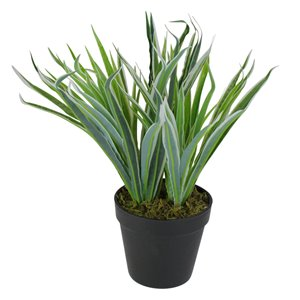 Northlight 13-in Green Artificial Grass Plant