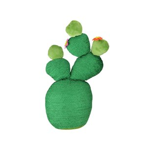 Northlight 15-in Green Artificial Plush Cactus Plant Tabletop Decor