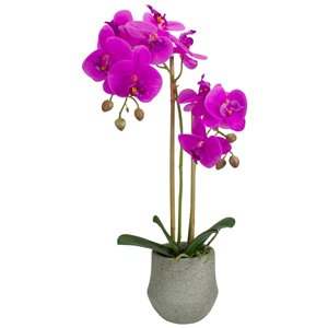 Northlight 14-in Purple Artificial Orchid Plant