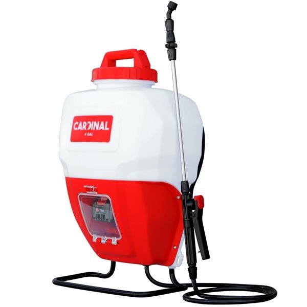 Pulvérisateur sac à dos à batteriesà réservoir de 4 gallons de Tomahawk