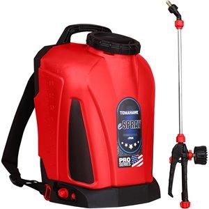 Pulvérisateur sac à dos à batteriesà réservoir de 4,75 gallons de Tomahawk