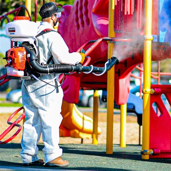 Brumisateur sac à dos à réservoir de 3,7 gallons de Tomahawk