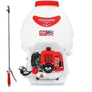 Pulvérisateur sac à dos à réservoir de 5 gallons et 450 lb/po2 de Tomahawk