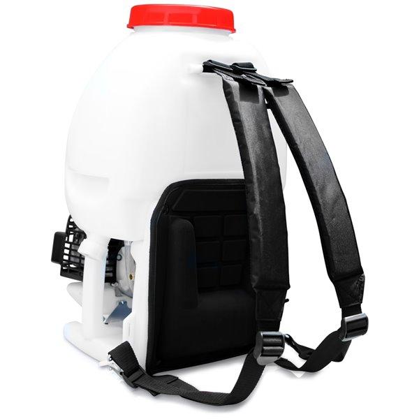 Pulvérisateur sac à dos à réservoir de 5 gallons et 435 lb/po2 de Tomahawk avec pistolet à bruine