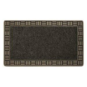 Floor Choice 30-in x 18-in Bronze Indoor Rectangular Door Mat