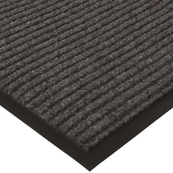 Tapis d'accueil extérieur rectangulaire de Floor Choice, 72 po x 48 po, noir