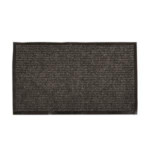 Floor Choice 72-in x 48-in Black OutdoorRectangular Door Mat