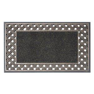 Floor Choice 18-in x 30-in Bronze Indoor Rectangular Door Mat