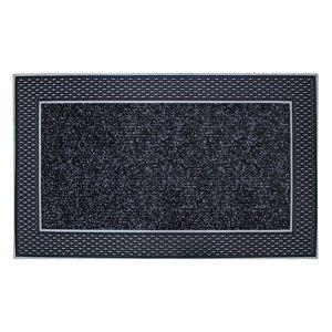 Floor Choice 18-in x 30-in Grey Indoor Rectangular Door Mat