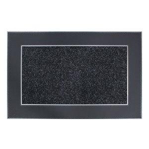 Floor Choice 24-in x 35-in Grey Indoor Rectangular Door Mat