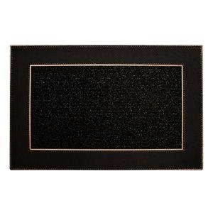 Floor Choice 24-in x 35-in Brown Indoor Rectangular Door Mat