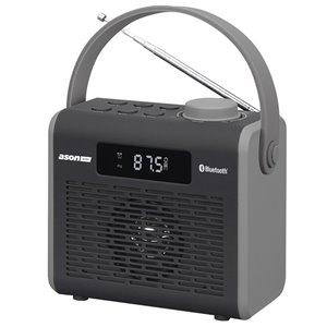 Ason Audio Cordless Jobsite Radio Bluetooth Adapter with Battery