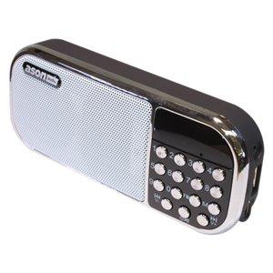 Ason Audio Cordless Jobsite Radio/MP3 Player with Battery