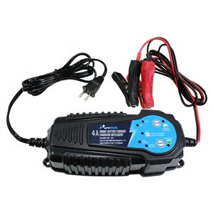 Purevolt 4-A 120-Volt Car Battery Charger